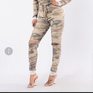 Fashion Nova Other - Camo Jumpsuit by Fashionnova